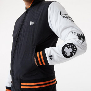 New Era NBA Logo Varsity East/West Jacket ''Black''