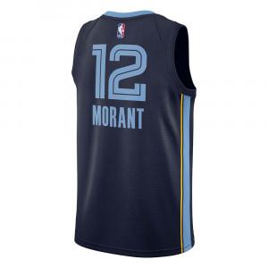 Nike NBA Grizzlies Ja Morant Icon Edition Swingman Jersey ''Navy Blue''