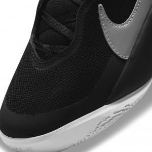 Nike Team Hustle D10 ''Black/Metallic Silver'' (GS)