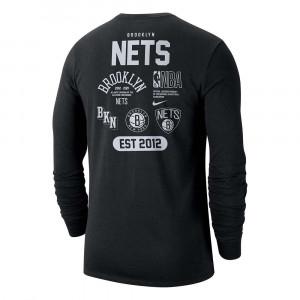 Nike NBA Brooklyn Nets Courtside Element Shirt ''Black''