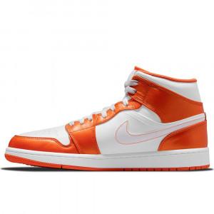 Air Jordan 1 Mid ''White Orange''