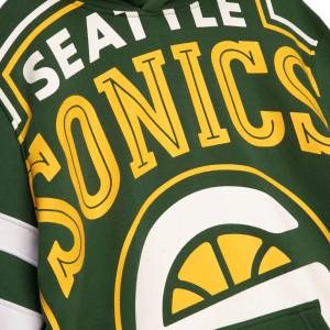 M&N NBA Seattle SuperSonics Substantial Fleece Hoodie ''Green''