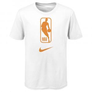 Nike NBA Logo Kids T-Shirt ''White''