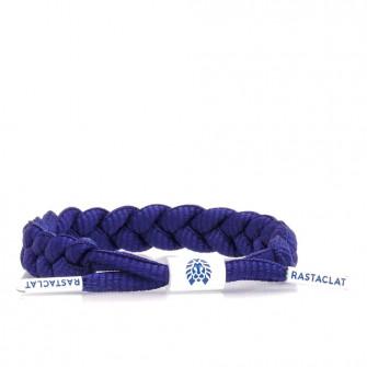 Rastaclat Indigo Braided Bracelet ''Navy''