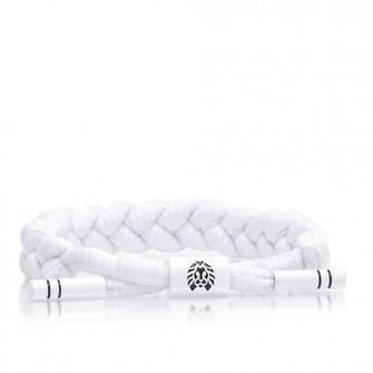 Rastaclat Level 1 Braided Bracelet ''White''
