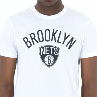 New Era Brooklyn Nets Logo T-Shirt ''White''