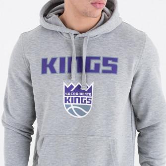 New Era NBA Sacramento Kings Team Logo Hoodie ''Grey''