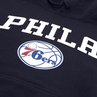 New Era Philadelphia 76ers Team Logo Hoodie ''Blue''