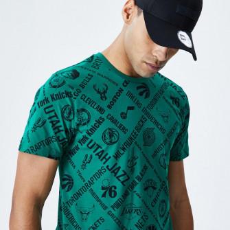 New Era NBA Logo T-Shirt ''Green''