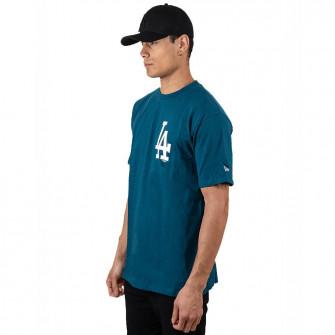 New Era MLB LA Dodgers Big Logo Oversized T-Shirt ''Blue''