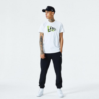 New Era Essential Flag Infill Graphic T-Shirt ''White''