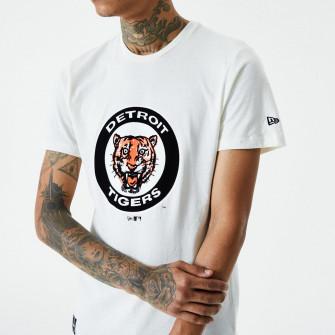 New Era MLB Detroit Tigers Cooperstown T-Shirt ''White''