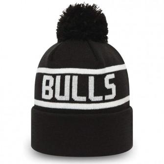 New Era Chicago Bulls Team Bobble Cuff Hat ''Black''