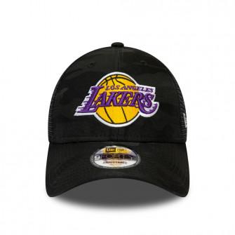 New Era NBA Los Angeles Lakers Seasonal The League 9FORTY Cap ''Black Camo''