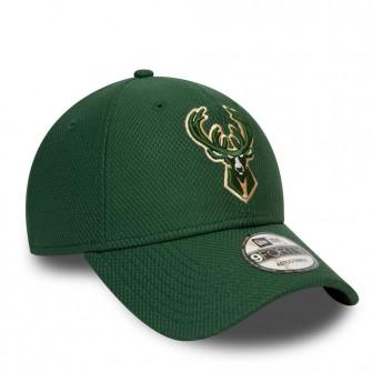 New Era NBA Milwaukee Bucks Diamond Era Essential 9FORTY Cap ''Green''