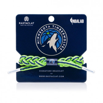 Rastaclat NBA Minnesota Timberwolves Signature Bracelet ''Home''
