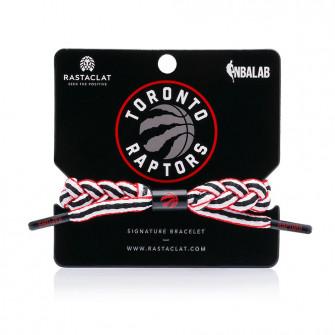 Rastaclat NBA Toronto Raptors Signature Bracelet ''Home''