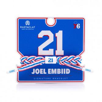 Rastaclat NBA Philadelphia 76ers Signature Bracelet ''Joel Embiid''