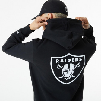 New Era NFL Las Vegas Raiders Logo Hoodie ''Black''