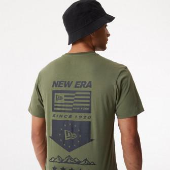 New Era Outdoor Utility Graphic T-Shirt ''Khaki Green''
