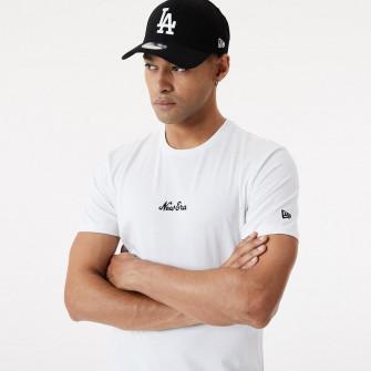 New Era Essential Script T-Shirt ''White''
