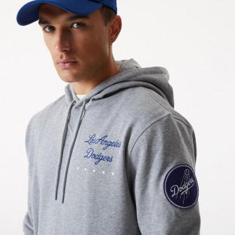New Era MLB LA Dodgers Heritage Hoodie ''Grey''