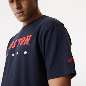New Era MLB Boston Red Sox Heritage Oversized T-Shirt ''Navy''