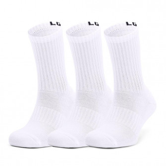 UA Core Crew Socks ''White''