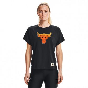 UA Project Rock Iron Paradise Tour WMNS T-Shirt ''Black''
