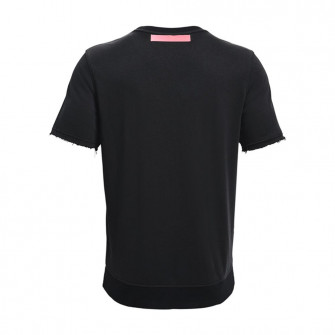 UA Rival Terry Short Necked T-Shirt ''Black''