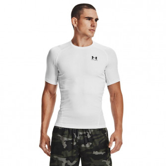 UA HeatGear Compression T-Shirt ''White''
