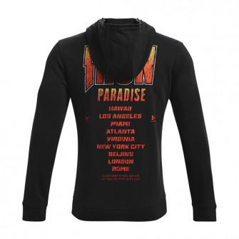 UA Project Rock Iron Paradise Fleece Hoodie ''Black''