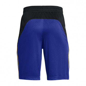 UA Curry Brand Logo Kids Shorts ''Blue''