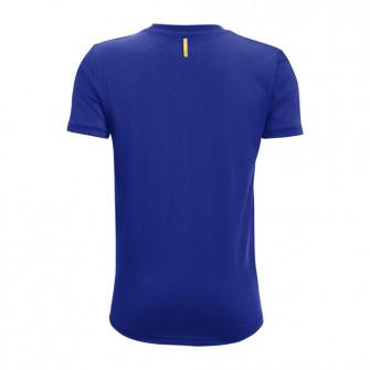 UA Curry Brand Logo Kids T-Shirt ''Blue''