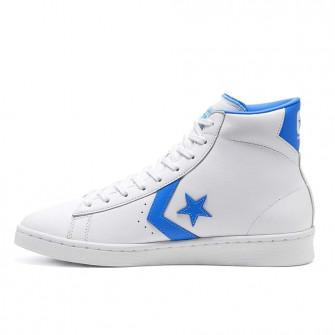 Converse Pro Leather High ''White/Coast Blue''