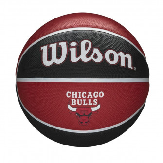 Wilson NBA Chicago Bulls Team Tribute Outdoor Basketball (7)