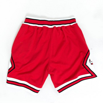 M&N NBA Chicago Bulls 1997-98 Authentic Shorts ''Red''