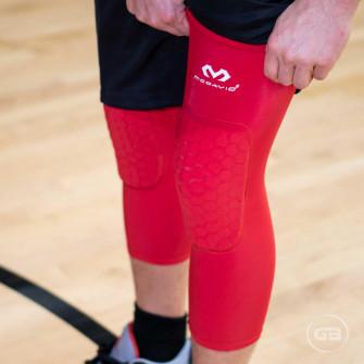 McDavid Hex Protective Knee Sleeve ''Red''
