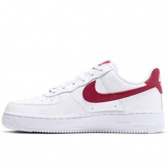 Nike Air Force 1 '07 LE WMNS ''White/Noble Red''