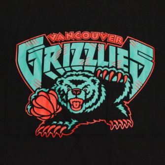 M&N NBA Vancouver Grizzlies Neon Logo T-Shirt ''Black''