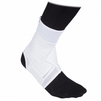 McDavid Double Strap Mesh Ankle Support Brace ''White''