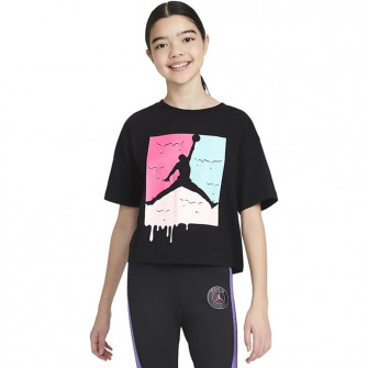Air Jordan Ice Cream Jumpman Girls T-Shirt ''Black''