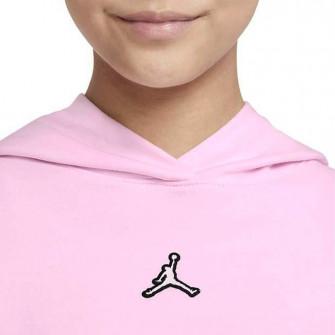 Air Jordan Essentials Fleece Girls Hoodie ''Pink''