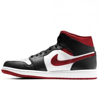 Air Jordan 1 Mid ''Gym Red/Black/White''