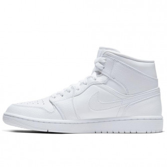 Air Jordan 1 Mid ''Triple White''