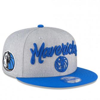 New Era NBA Draft On Court Dallas Mavericks 9FIFTY Cap ''Grey''
