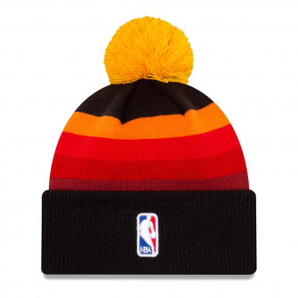 New Era NBA Utah Jazz City Edition Knit Hat ''Red/Yellow/Black''