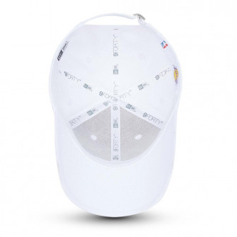 New Era NBA LA Lakers Metallic Logo 9FORTY Cap ''White''