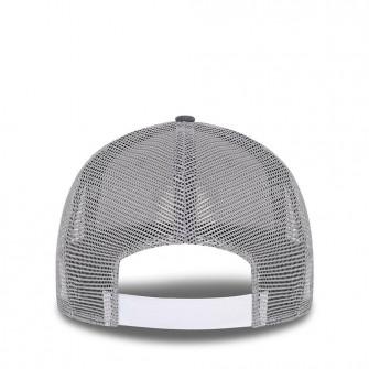 New Era NBA Logo Home Field Graphite 9FORTY Trucker Cap ''Grey''
