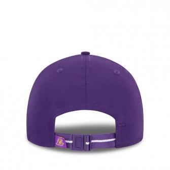 New Era NBA LA Lakers Half And Half 9FORTY Cap ''Purple''